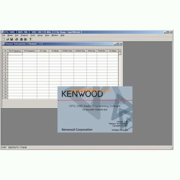 KENWOOD KPG 109-D  PC-Programmiersoftware